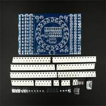 10 sztuk/partia DIY CD4017 obracanie LED SMD NE555 praktyka lutowania pokładzie DIY zestaw Fanny umiejętności szkolenia elektroniczny garnitur