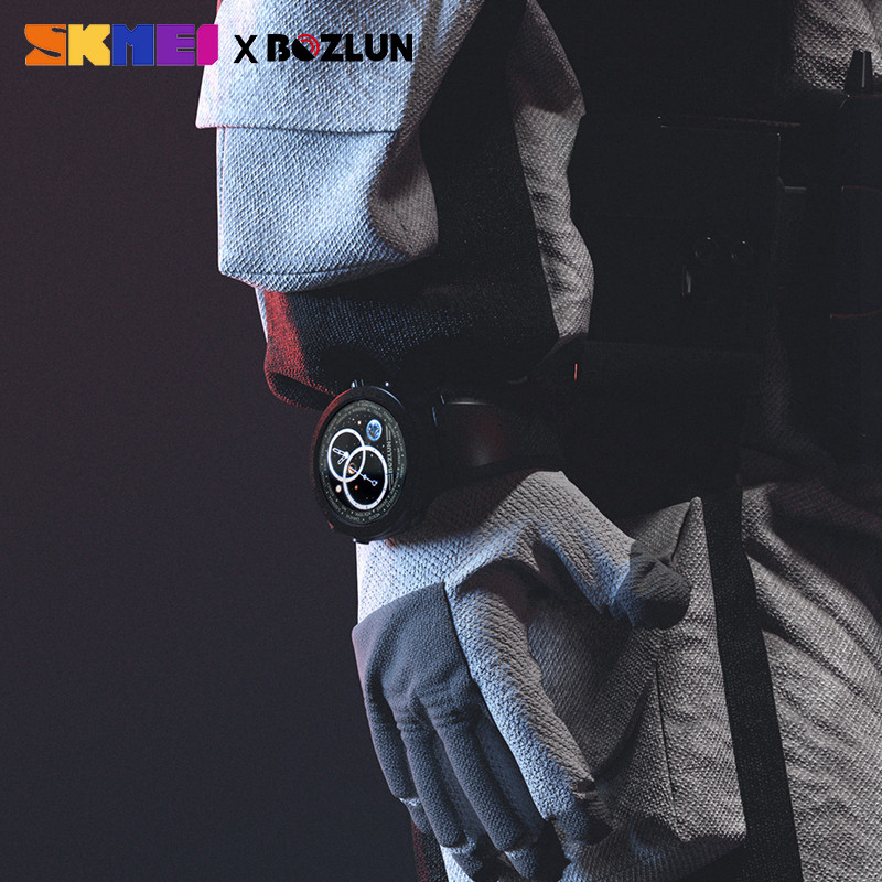 SKMEI LED Display Men Digital Watch Calories Heart Rate Monitor Steps Sport Watches Montre Homme Relogio Masculino W31 Clock - 4