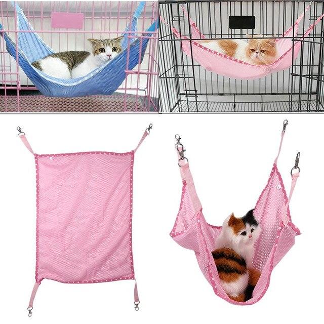 pet bed mat cat cage hammock for cats bed mat for summer ventilation   cloth pet pet bed mat cat cage hammock for cats bed mat for summer      rh   aliexpress