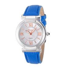 2017 Hot Women Watches Women Girl Roman Numerals Leather Band Quartz Wrist Watch Bracelet Top Gifts Dropshipping M7