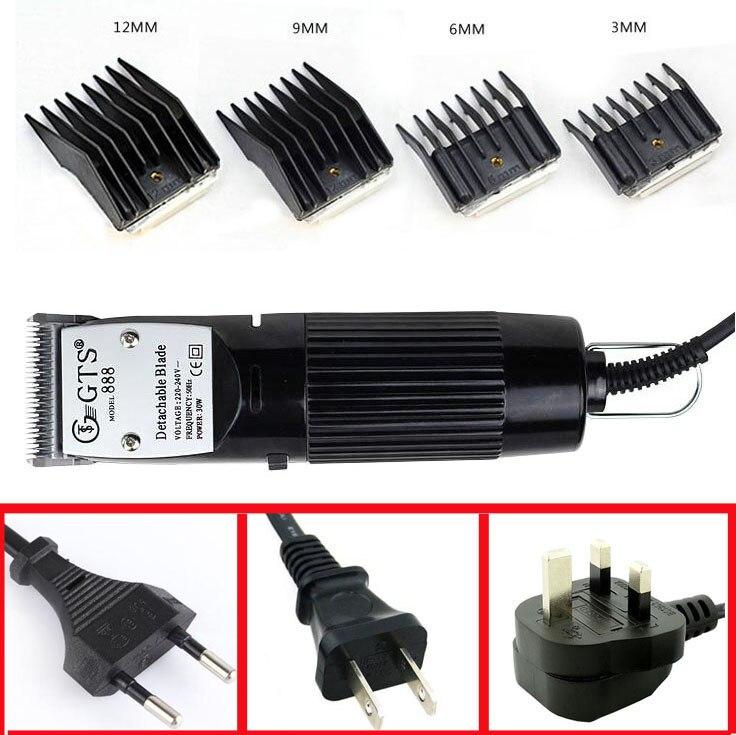 Pet Clipper Pet Hair Clipper Dog Hair Trimmer Animal Clipper Electric Detachable Blade Short Hair Clipper