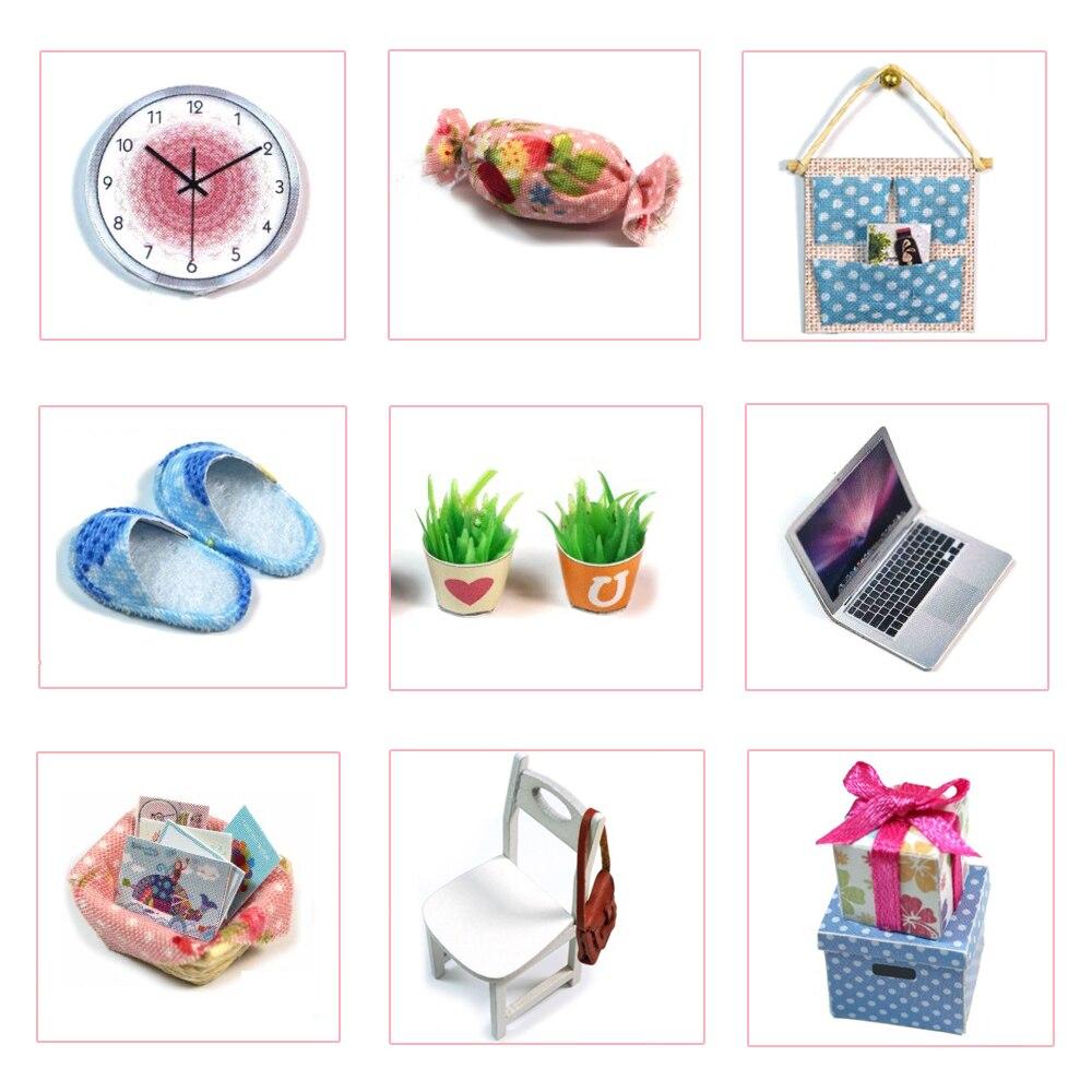 Casas de Boneca bonecas artesanais diy casas de Tipo : Furniture Miniature