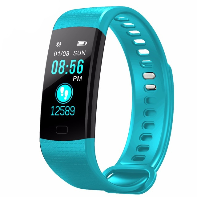 Digital Watches 2019 Latest Design Gejian Smart Bracelet Heart Rate Blood Pressure Exercise Step Ip67 Waterproof Swimming Wristband Men Women Smart Watch Movement Selling Well All Over The World
