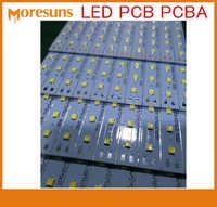 Быстрая бесплатная доставка MCPCB плата для 3 ватт, 6 ватт, 9 ватт, 12 ватт led на алюминиевой основе PCB монтажные Алюминиевые PCB