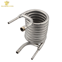 304 Stainless Steel Counterflow Wort Chiller, Brewing Equipment, Garden Hose Fittings 2018 Top Quality