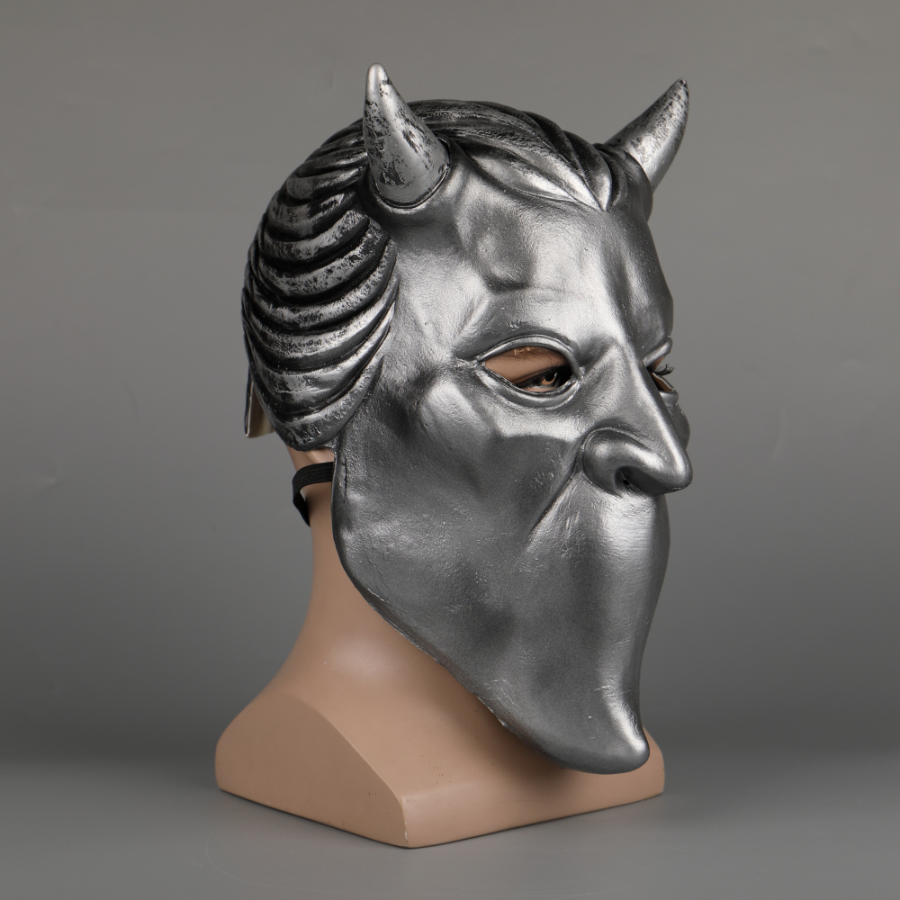 Ghost Nameless Ghoul Mask Cosplay Ghost B.C Rock Roll Band Latex Helmet Masks Halloween Party Props DropShipping (30)