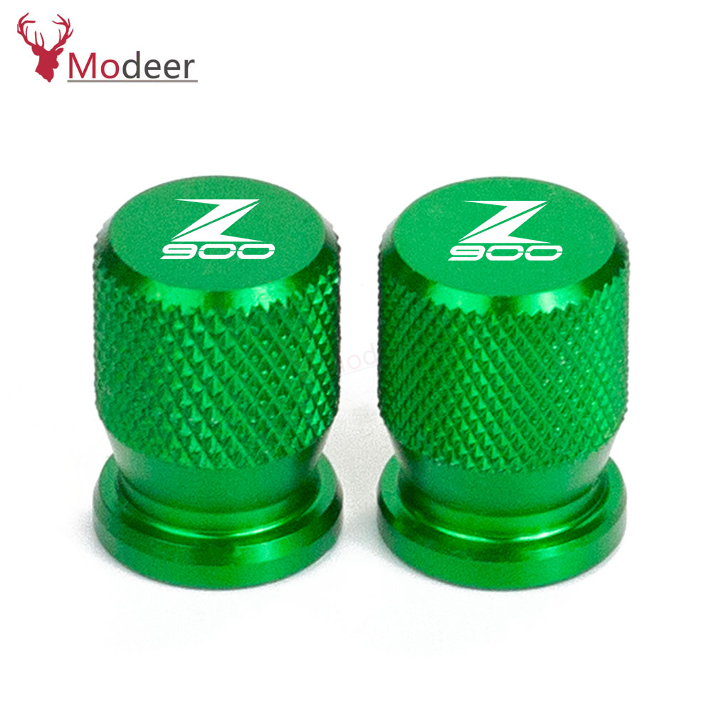 For <font><b>KAWASAKI</b></font> Z900 <font><b>Z900RS</b></font> RS Z 900 CAFE 2017-2019 2020 Motorcycle <font><b>Accessories</b></font> Wheel Tire Valve caps CNC Aluminum Airtight Covers image