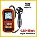 GM8901 Anemometer Wind Geschwindigkeit GaugeTemperature Messen Digitale 45 mt/s thermometer