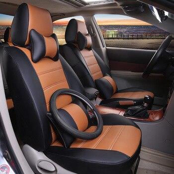 автокресло уютный чехол | На свой вкус авто аксессуары пользовательские роскошные кожаные чехлы сидений автомобиля для Ford Kuga Побег Caravan E150 Maverick Transit модные
