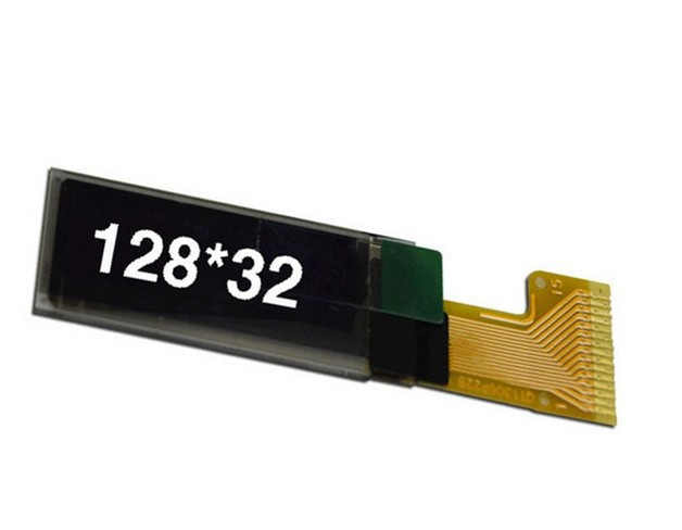 0,91 pulgadas OLED 15PIN SSD1306 128*32 4 cables SPI pantalla OLED SPI SSD1306