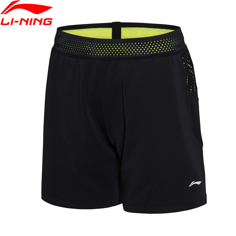 (Clearance)Li-Ning Women Badminton Competition Shorts AT DRY National Team Sponsor LiNing Sports Shorts AAPN022 WKD586(China)