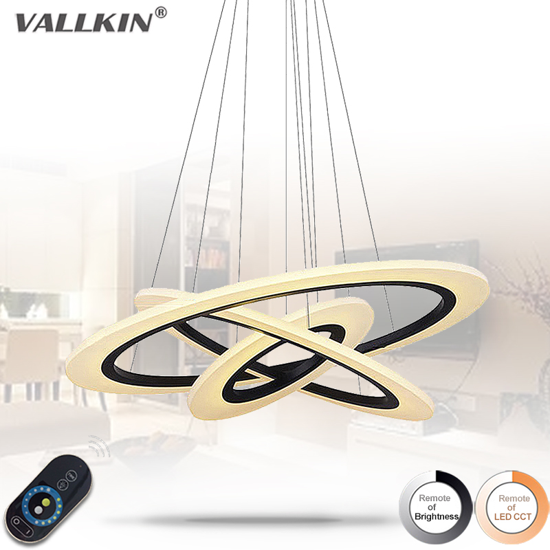 Modern LED Pendant Light Living Room Decor Acrylic Dimmable Flower Shape Hanging Lamp with Butterfly Lamparas Lustre VALLKIN modern dimmable curved luxury gold chrome led pendant light eelctroplate aluminium soft acrylic lustre cristal led hanging lamp