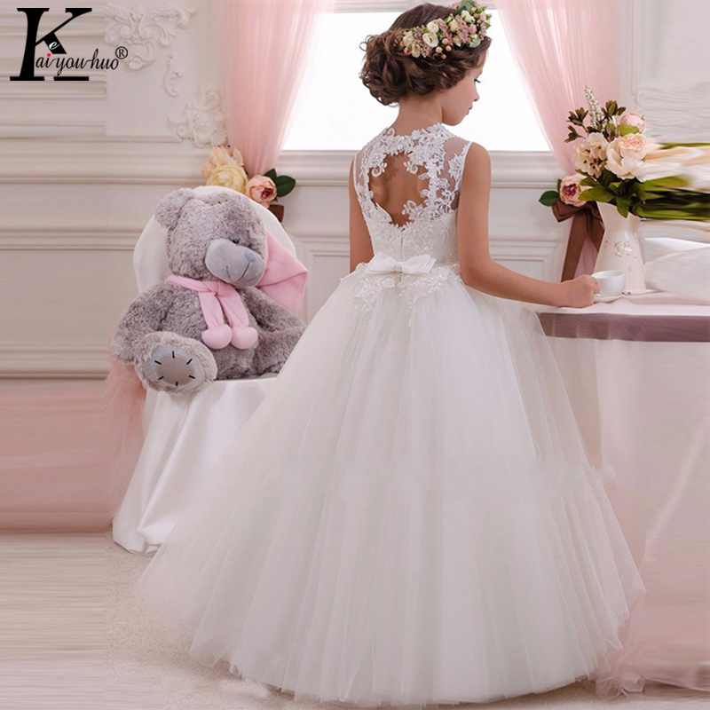 New High Quality Summer Girls Dress Elegant Children Clothing Performance Kids Dresses For Girls Princess Wedding