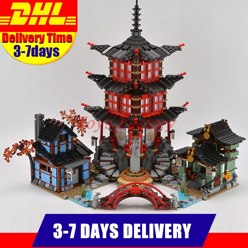 DHL IN-STOCK LEPIN 06022 2150Pcs Temple of Airjitzu Jay Kai Cole Building Block Compatible 70751 Bricks Toys Gifts in stock 2150pcs lepin 06022 city of stiix building blocks temple of airjitzu anime figures kids bricks toys clone 70751
