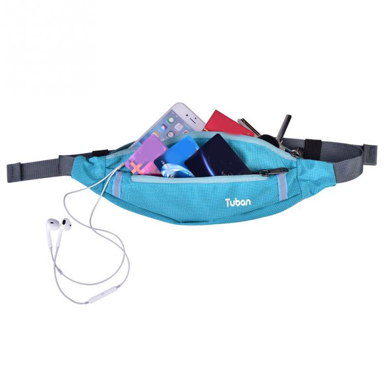 Adroit Running Bag Outdoor Sport Waist Bag Multi-functional Pack Bottle Phone Pocket Men Women Jogging Belt With Reflective Strip An Indispensable Sovereign Remedy For Home