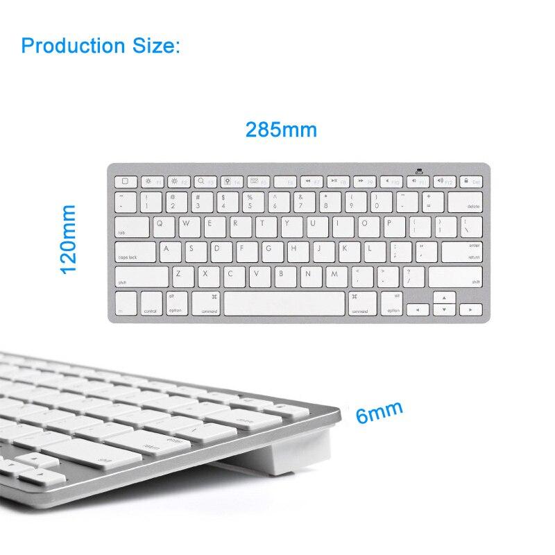 3 German Keyboard Bluetooth