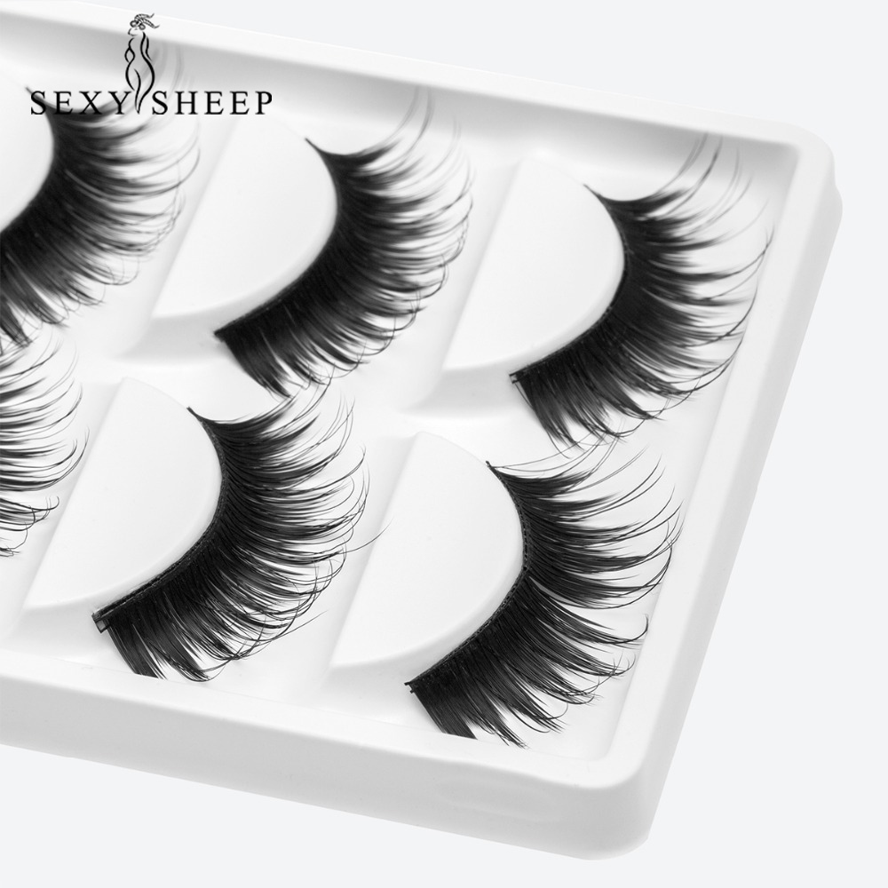 Beauty & Health 5 Pairs Natural False Eyelashes Fake Lashes Long Makeup 3d Mink Lashes Eyelash Extension Mink Eyelashes For Beauty
