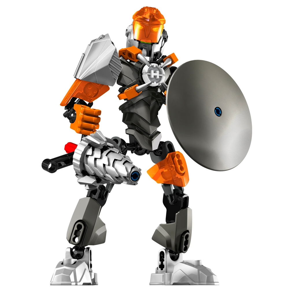 20CM Villans BULK 44004 Robot Brain Attack Hero Factory 5 Star Soldier Action Figure Building minifig Blocks KidS Toys Gifts фигурка planet of the apes action figure classic gorilla soldier 2 pack 18 см
