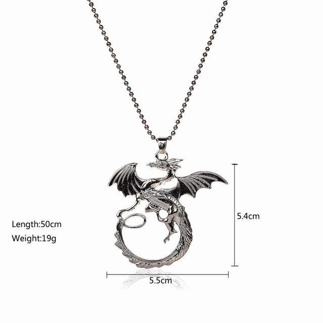 High Quality Game Of Thrones Dragon Badge Jewelry