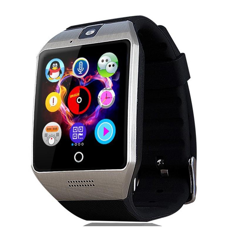 <font><b>2016</b></font> Оригинальные q18s SmartWatch multifonction <font><b>Bluetooth</b></font> Умные часы мужские часы для всех телефонов Android PK <font><b>U8</b></font> dz09 gt08