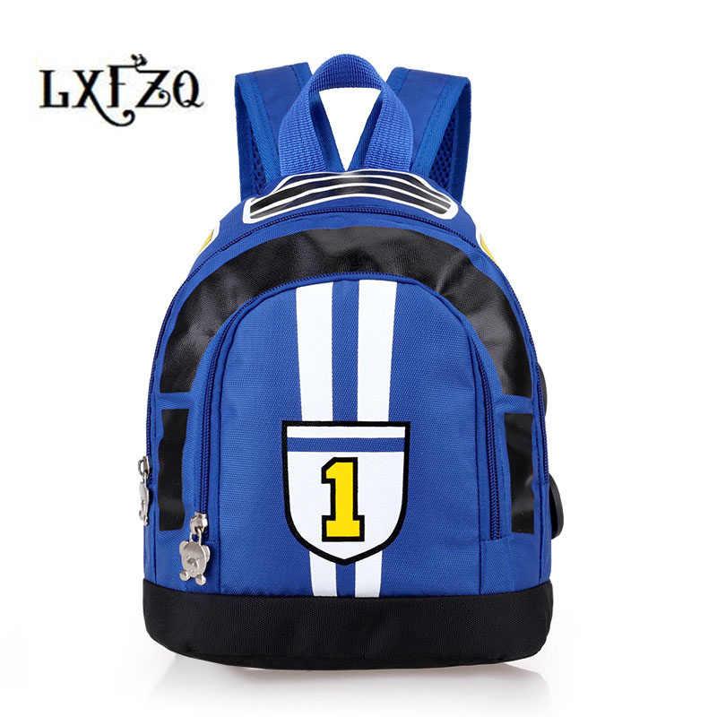 9109d20393 Children school bags Cartoon Car Backpack Baby mochila infantil Toddler Bag  kids Kindergarten Rucksacks Children s backpack