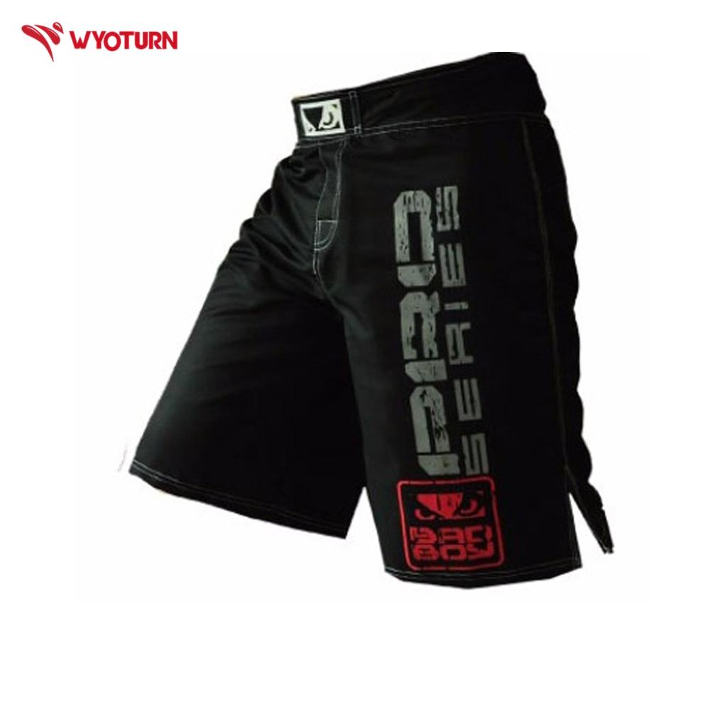 New Professional Muay Thai Boxing Trunks MMA Fitness Training Pants Boxing Shorts Martial Arts Kickboxing Shorts For Men Shorts