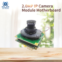 ZSVEDIO HD 1080P 2.0MP IP Camera Network Module Motherboard IS Cutting Day and Night Sony HI3516C