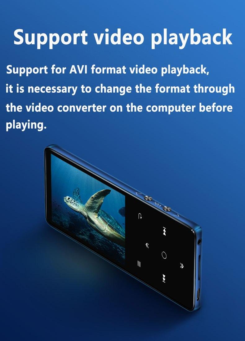 de alta fidelidade bluetooth4.2 mp3 player música