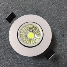 2018 Rushed Abajur Luminaire 10pcs/lot  Led Downlight Light Cob Ceiling Spot 3w 85-265v Recessed Lights Indoor Lighting