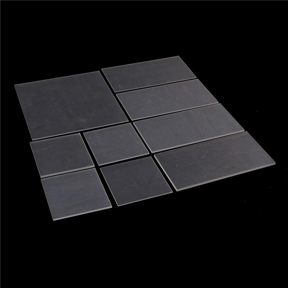 1pcs 2-5mm thickness Clear Acrylic Perspex Sheet Cut Plastic Transparent Board Perspex Panel