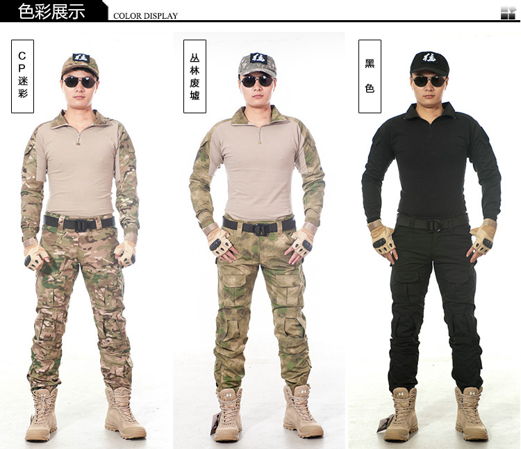 Us Army Military Uniform For Men Gen 2 Shirt+pants Military Army Pants With Pads 6 Colors S-XXL