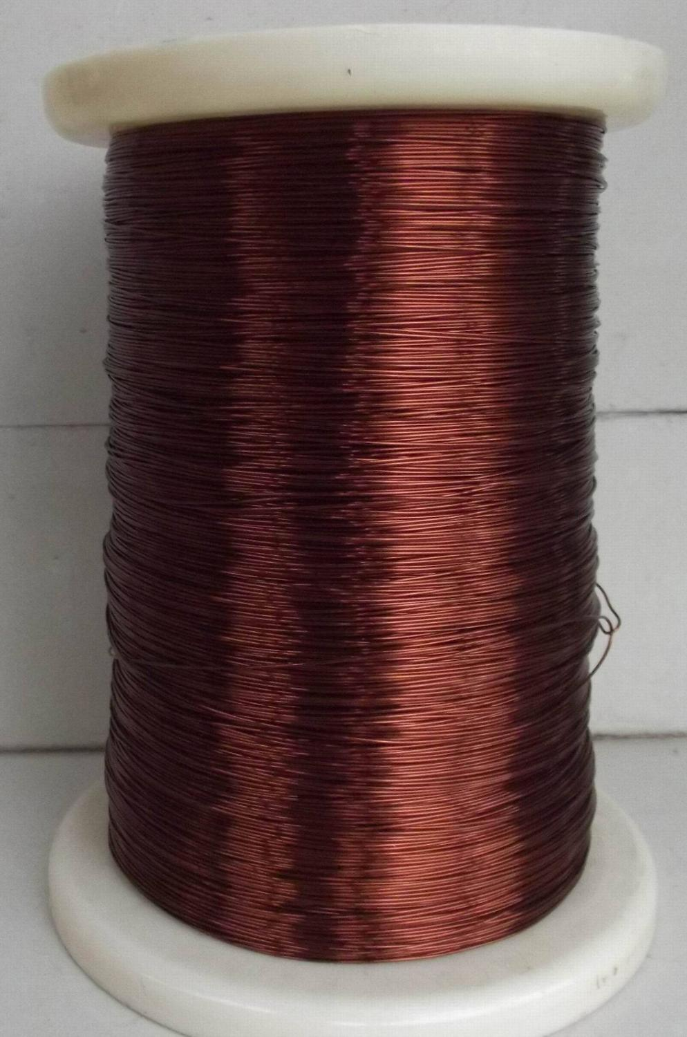 100 Meters/lot  Polyester Paint 0.8mm Wire  0.8 QZ-2-130 Enamelled Round Copper Wire