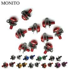 CNC Motorcycle Fairing Screws Custom Moto Body Spring Bolts For HONDA CRF230F XR230 XR250 XR400 CRF 230F XR 250 230 Accessory
