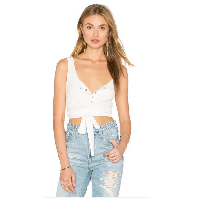 Cropped-Tops Bustier Lace-Up Elegant Summer Sexy Women Ladies Solid with Waist