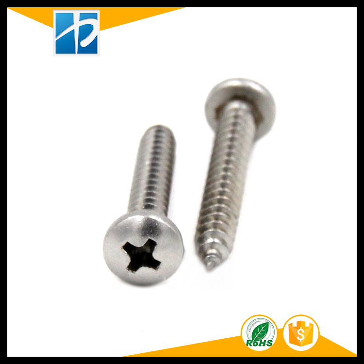 (100 pc/lot) ST1.0,ST1.2,ST1.4,ST1.7 *L=3,4,5,6,8,10,12 stainless steel CROSS RECESSED PAN HEAD SELF TAPPING SCREW st