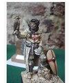 Resina Kits 1/32 de cavaleiros templários do 54 mm resina modelo frete grátis