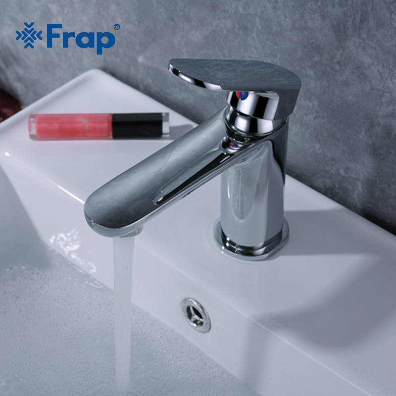 Frap High Quality Basin Faucets Bathroom Faucet Single Handle Basin Mixer Tap Hot and Cold Water