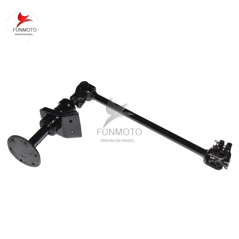 STEERING LEVER/BAR/STEERING COLUMM FOR KANDI 250 KD-250GKA-2Z BUGGY/GOKART one pair rear disc brake suit for kandi 250 kd 250 gka buggy