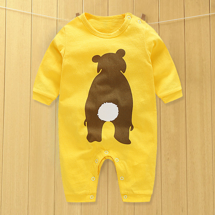 Baby Clothing 2017 New Newborn Baby Boy Girl Romper Clothes Long Sleeve Infant\newborn baby clothes Product newborn infant girl boy long sleeve romper floral deer pants baby coming home outfits set clothes