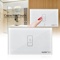 FUNRY ST2 1 Touch Switch Smart Wall Switch US Plug Light Touch Screen Capacitive Touch High