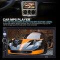 7010B 2 Din Автомобильный Видео Плеер 7 ''HD Сенсорный Экран Стерео Аудио Плеер Поддержка Камеры Заднего Вида FM/MP5/USB/AUX/Bluetooth