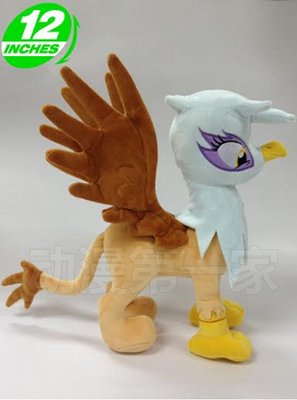 1PCS 32CM 288g MLP Gilda the Griffon limited edition little pet horse cotton plush doll toys for cute gifts and kids plush ocean creatures plush penguin doll cute stuffed sea simulative toys for soft baby kids birthdays gifts 32cm