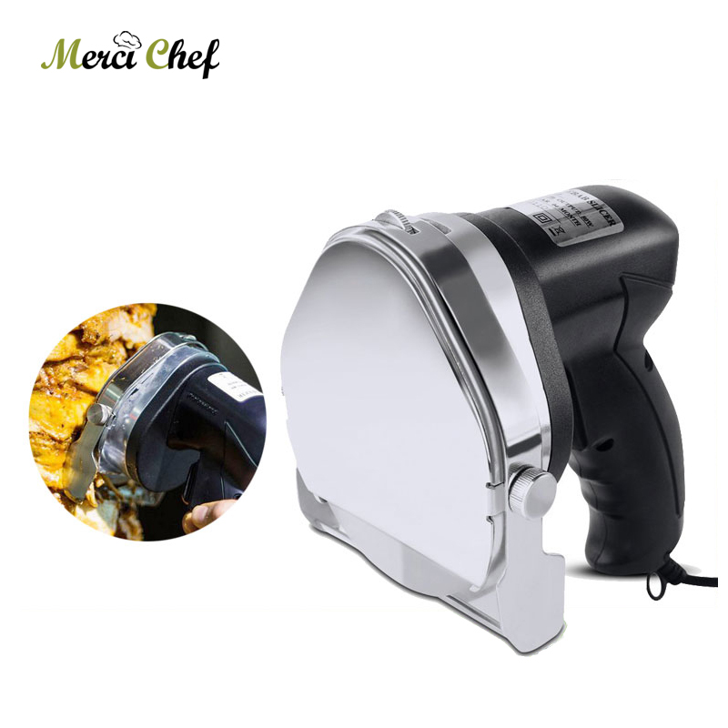 ITOP Merci Chef Kebab Knife Kebab Slicer Electrical Shawarma Cutter Slicer Knife Gyro Cutter With 2 Blades Free High Quality fast delivery professional electric shawarma doner kebab knife kebab slicer gyros knife gyro cutter 2 blades