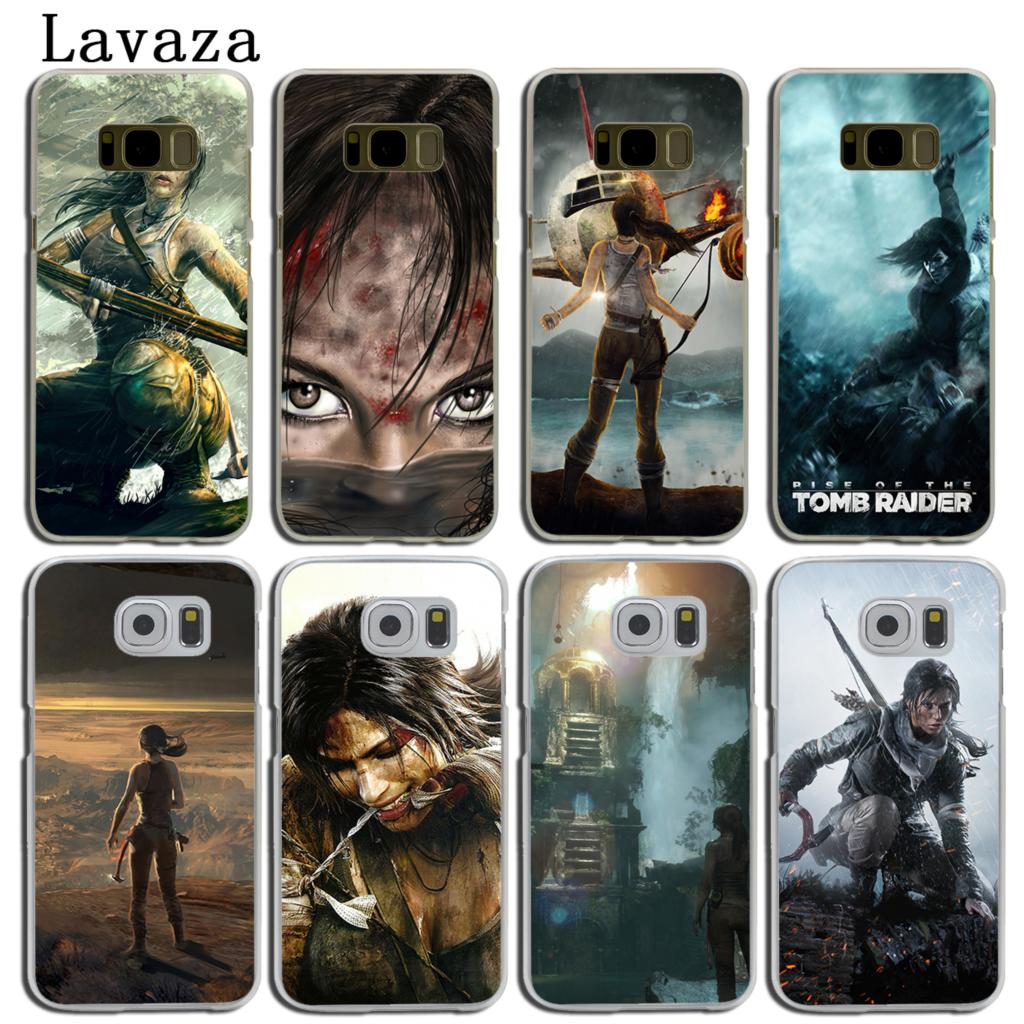 Lavaza Rise Of The Tomb Raider Hard Phone Shell Case for Samsung Galaxy S8 S9 Plus S3 S4 S5 & Mini S6 S7 Edge Plus Cover ...