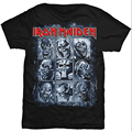 Iron Maiden Heavy Rock  Men/Women's Graphic T Shirt 2016 New Summer Top Short Sleeve Mens Casual Shirt Custom Design Tee Shirt