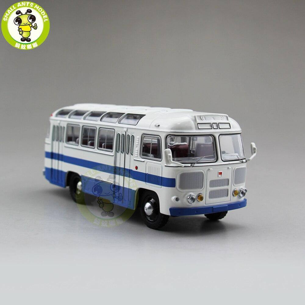 1/43 Classic PAZ 672 USSR Russia Soviet Union City Bus Coach Diecast Model Car Bus Kids  ...