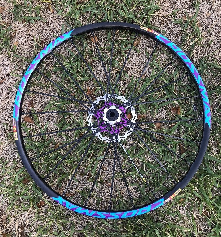 2018 CROSSMAX ELITE Decals Stickers 26 inch 27.5 650b 29 inch Bicycle Wheel Rim