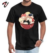 2019 Men T-Shirt Birthday Cool Tee Boku no Hero Academia Deku Bakugo Uraraka Weed Sleeve Leisure T Shirt O-Neck Wholesale