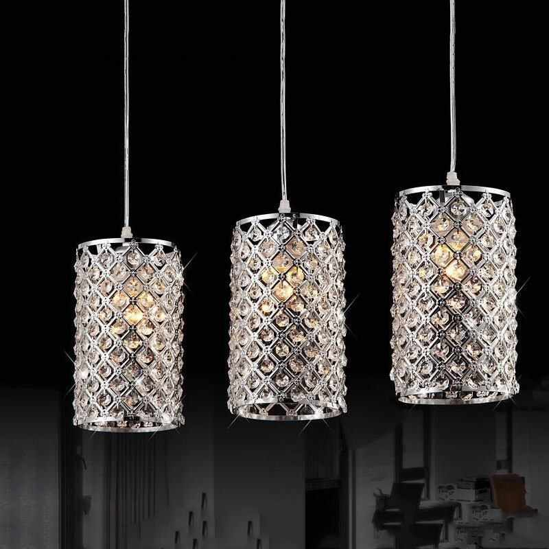 modern Lustre LED Crystal Chandelier Crystal Lamp Bedroom Living Room Lamp AC 85V-260V E27/E26 lamp holder K9 Crystal lights