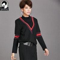 Autumn Winter Long Sleeve Women T Shirt Turtleneck Slim Long Sleeve Casual OL Style Female Tops